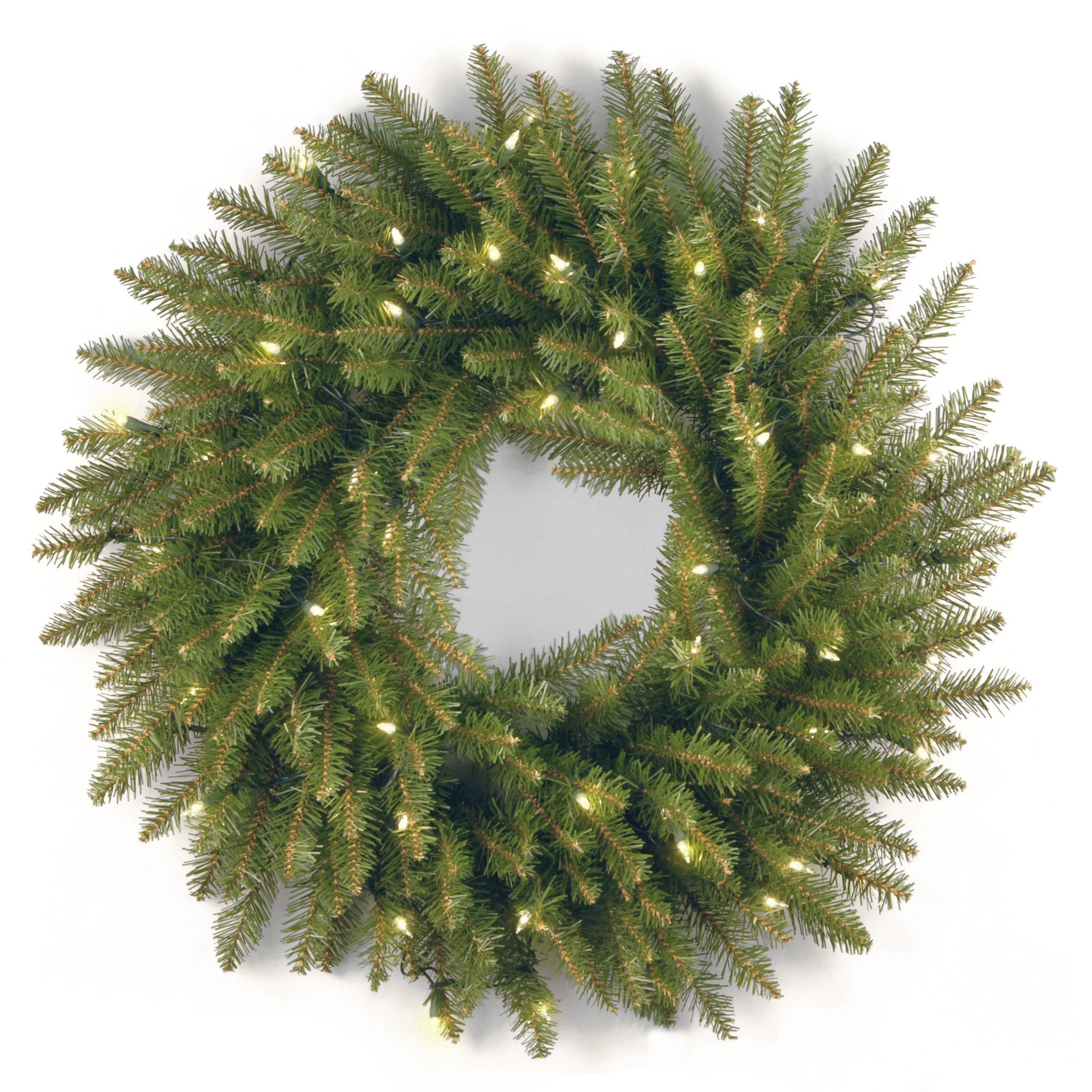 National Tree Company 16 Inch Frosted Berry Grapevine Wreath Outdoor Christmas Wreaths Artificial