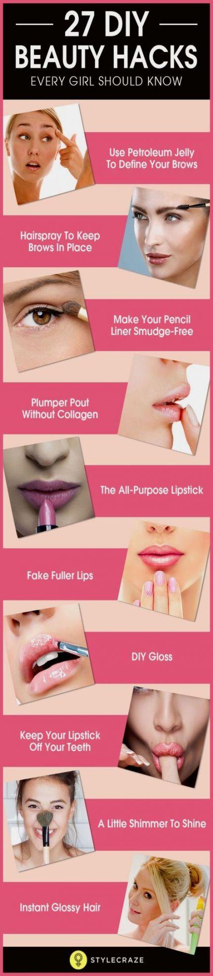 Makeup Tips And Tricks Hacks Tutorials Diy Beauty 38