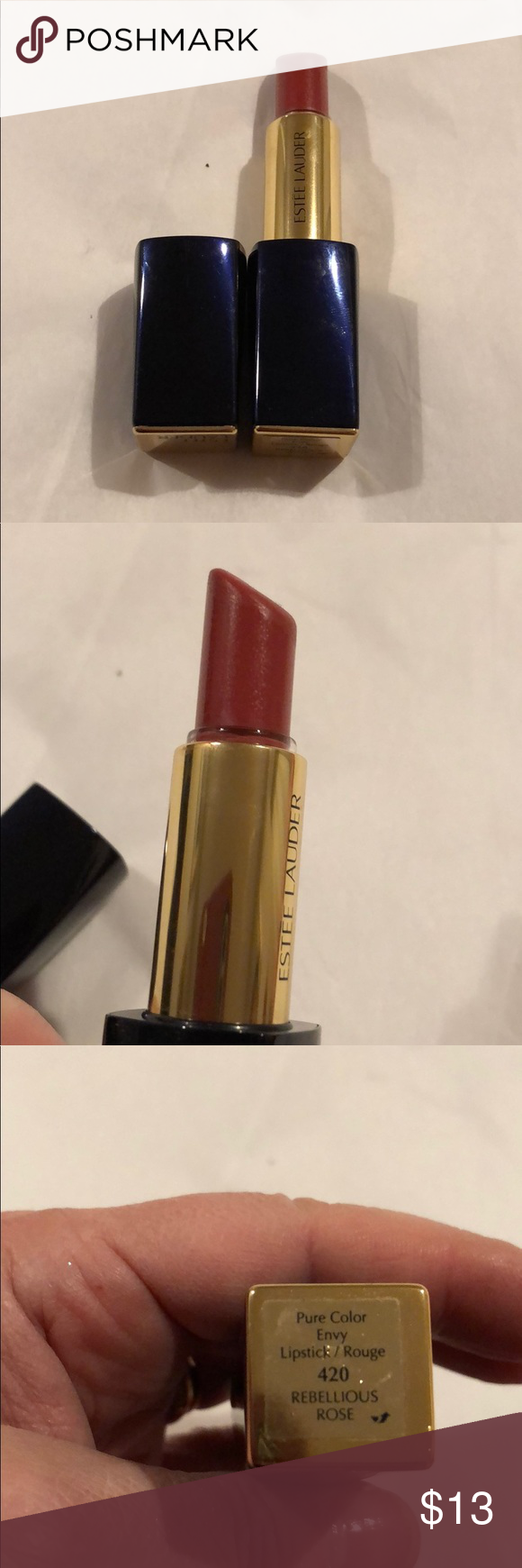 Estée Lauder Envy Lipstick 420 Rebellious Rose Pure Color Envy Sculpting Lipstick 420 Rebellious Rose Super Crea Lipstick Pure Color Envy Estee Lauder Makeup