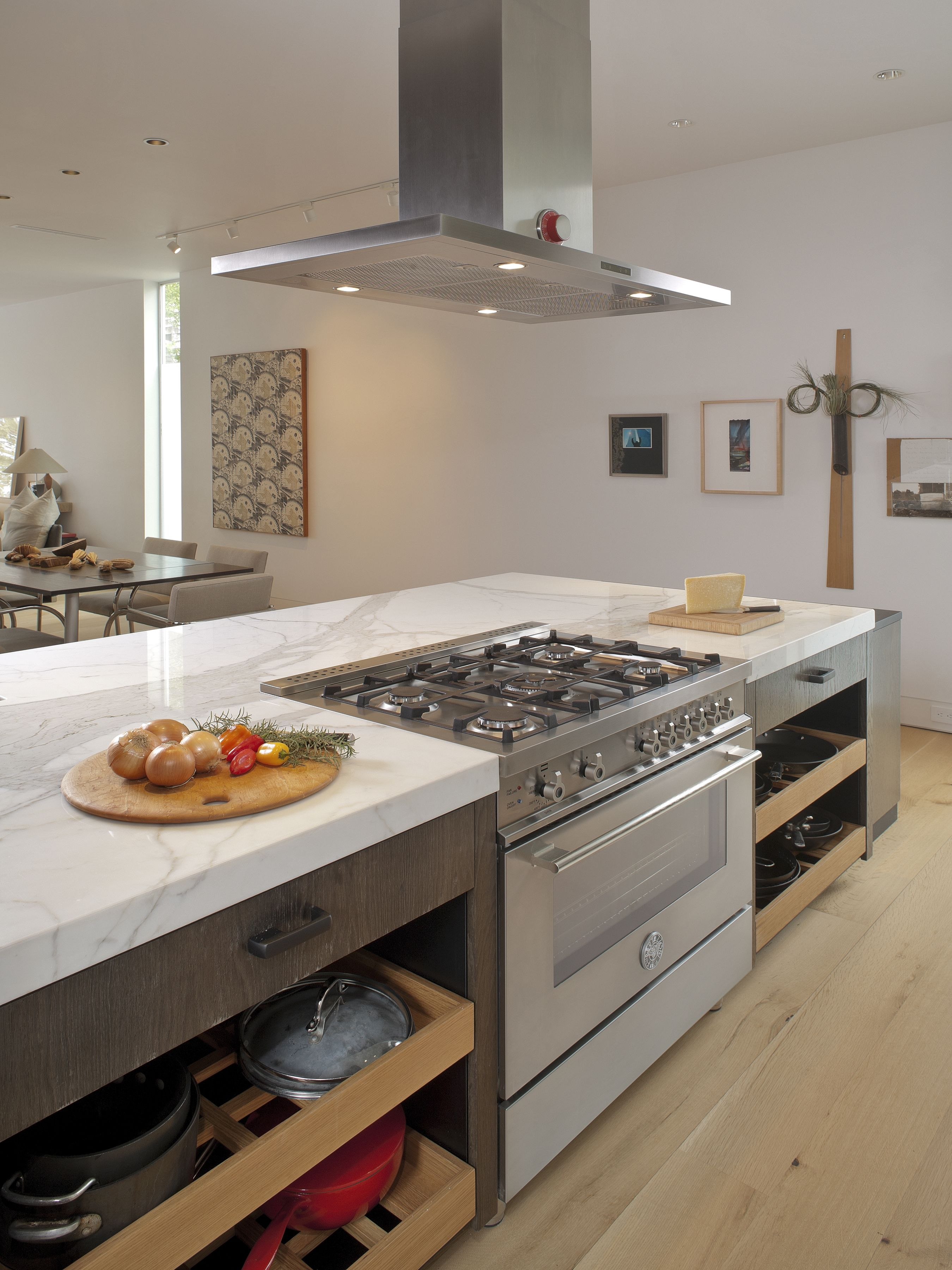 Kitchen Island With Cooktop Air Vent For Sink Houston Tx Bertazzoni 36 Quot 5 Burner Professional Series