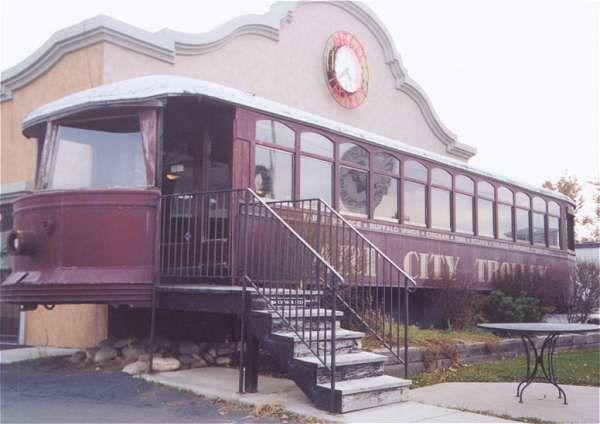Art City Trolley Restaurant In Springville Ut Great Little Retro Dinner If You