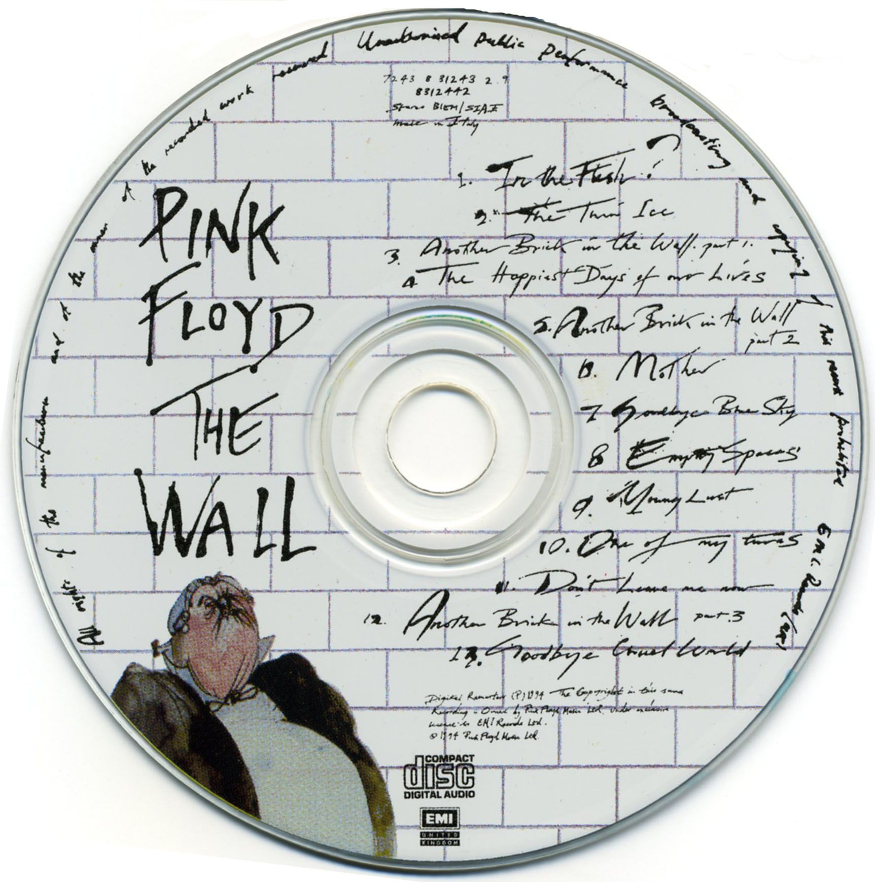 The Wall Pink Floyd: Pink Floyd Simply Timeless .....