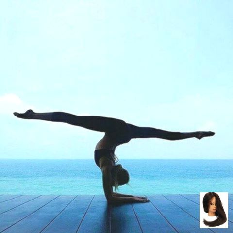 aesthetic blue health aesthetic image result yoga