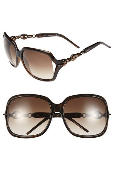3c9abf19be0a7 Rounded 60sinspired oval chain links fashion the temples of squaredoff  sunglasses with flirty open sides.59mm lens width 15mm bridge width 115mm  temple ...