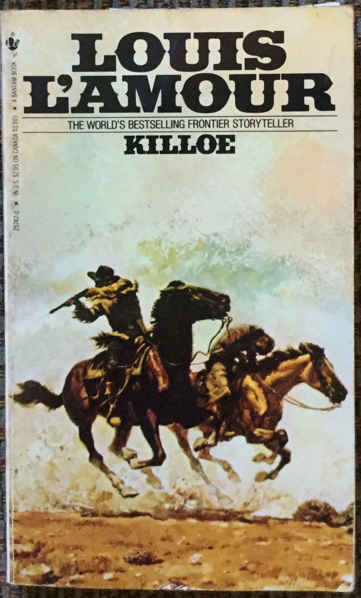 Killoe by louis lamour a paperback published by bantam