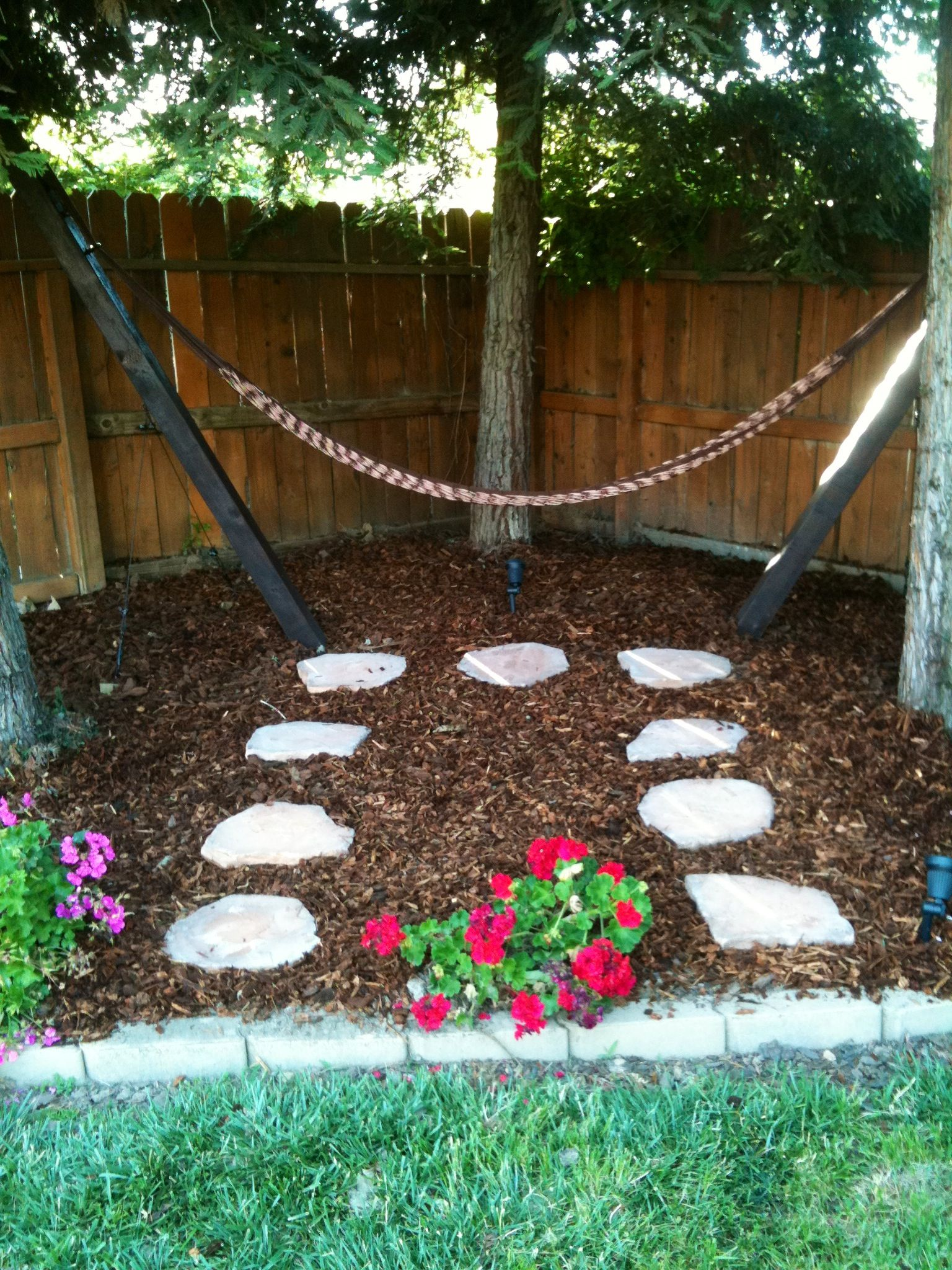 Backyard Hammock Design Backyard Hammock Food Pinterest