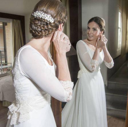 Pequeños complementos de una novia Teresa Palazuelo Detalles