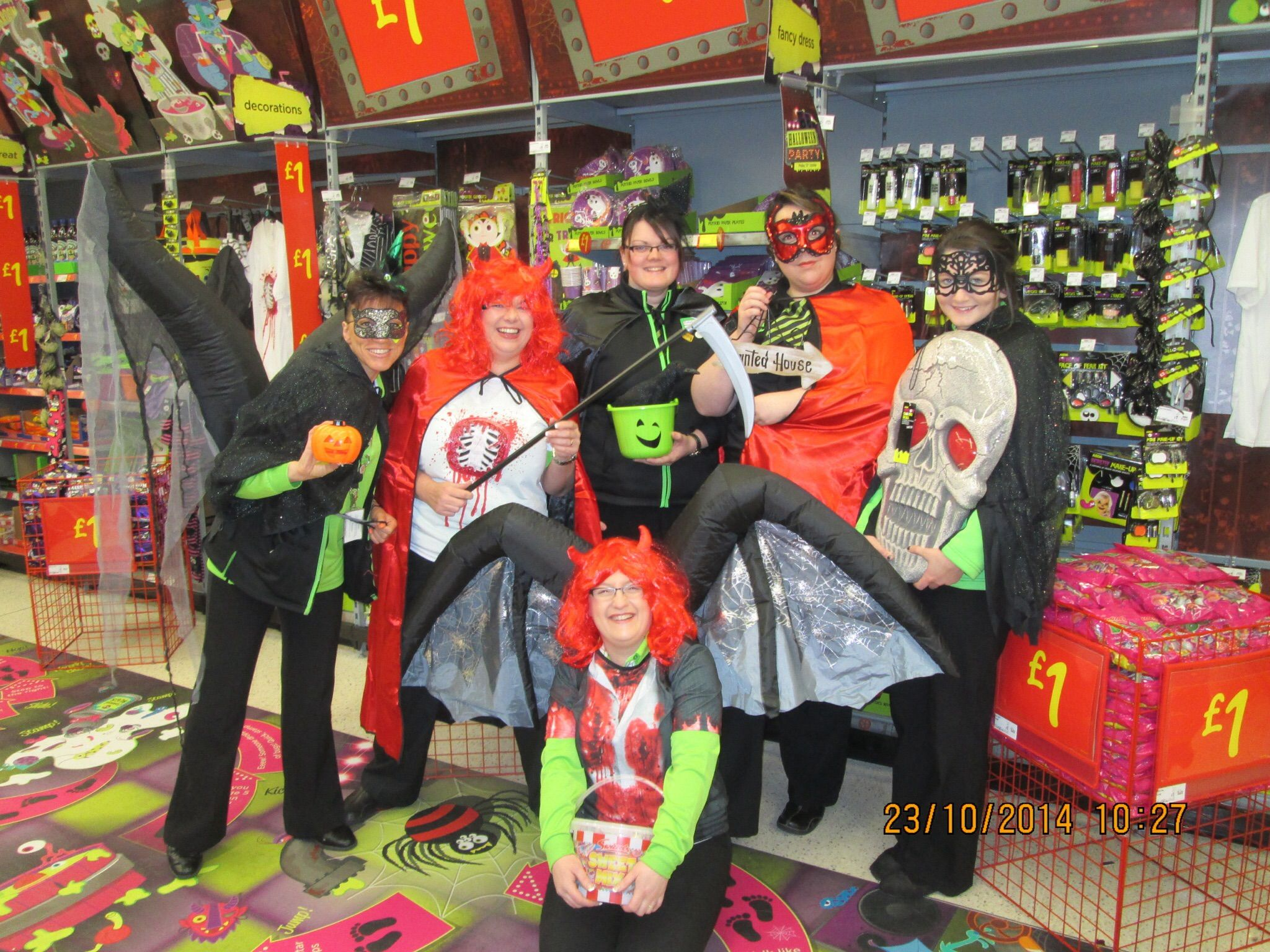 get set for halloween with asda