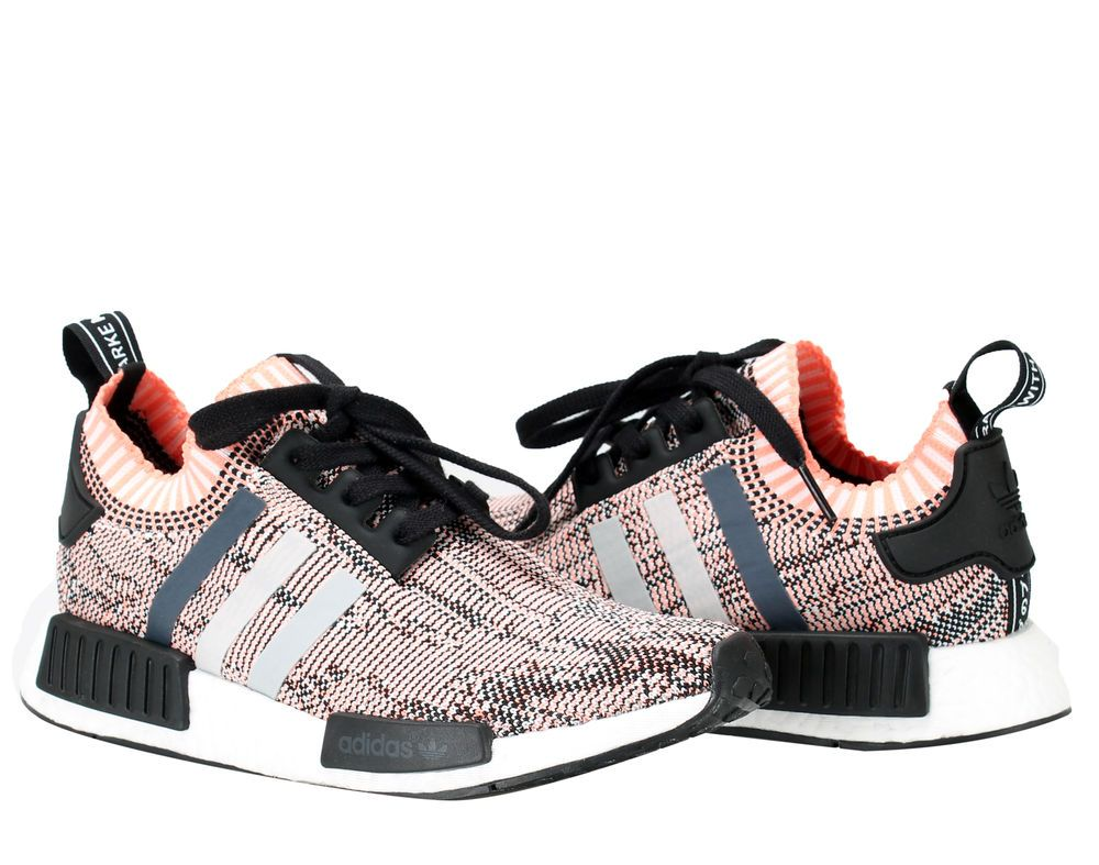 Adidas NMD_R1 PK Primeknit Pink Women's Running Shoes