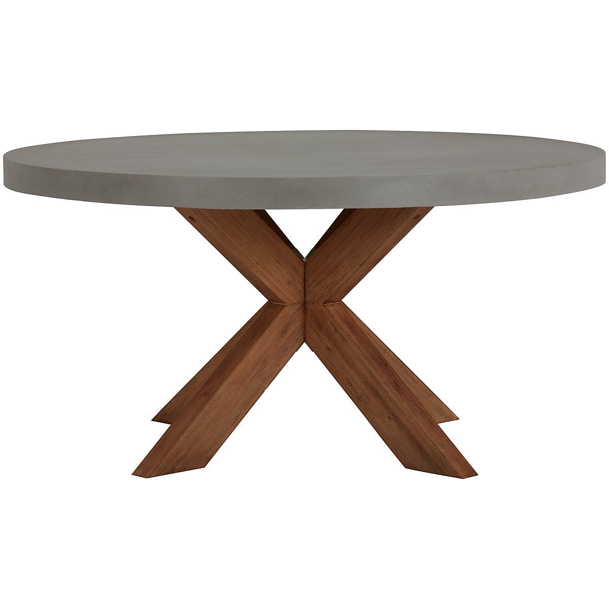 Canyon Fiberstone 60 Round Table Concrete Dining Table Round