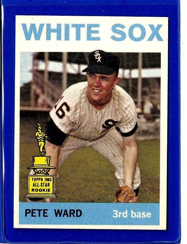 Details About Pete Ward 1964 Topps Baseball Card Chicago