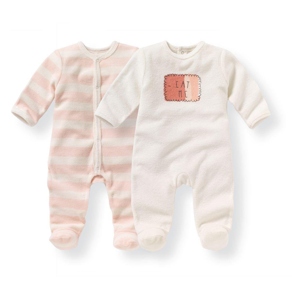 8a77c50b4909b Pyjama en éponge 0 mois-3 ans (lot de 2) R mini | Pour bébé/enfant ...