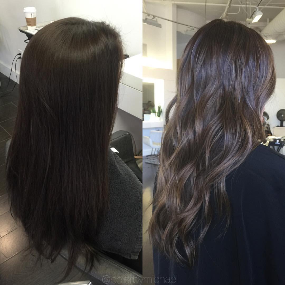 "OC Colorist & Hair Extensions on Instagram: ""Dimensional Brunette"""
