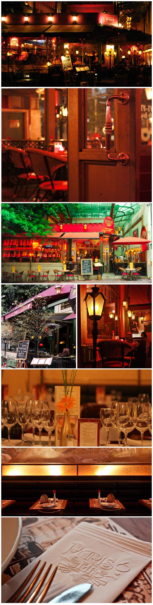 Restaurante Paris 6 localizado em São Paulo. Bistrô francês.