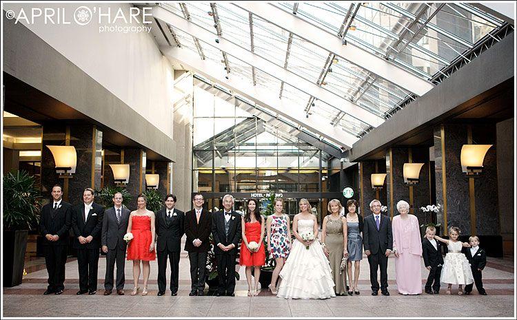 Fun Wedding Photography Grand Hyatt Denver Co