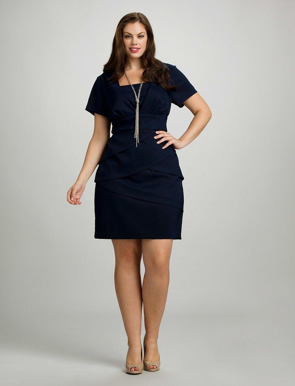 Modas de vestidos cortos para gorditas