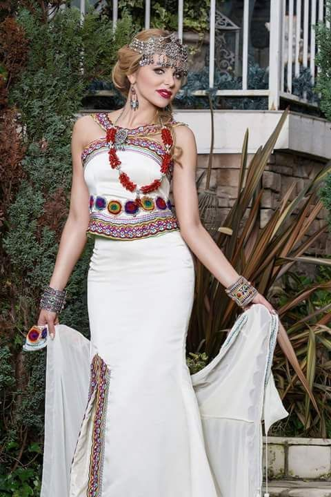 robe kabyle moderne costumes traditionnels robe caftans and traditional clothes