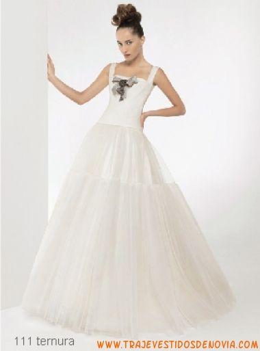 ternura vestido de novia christian lacroix para rosa clar | vestidos