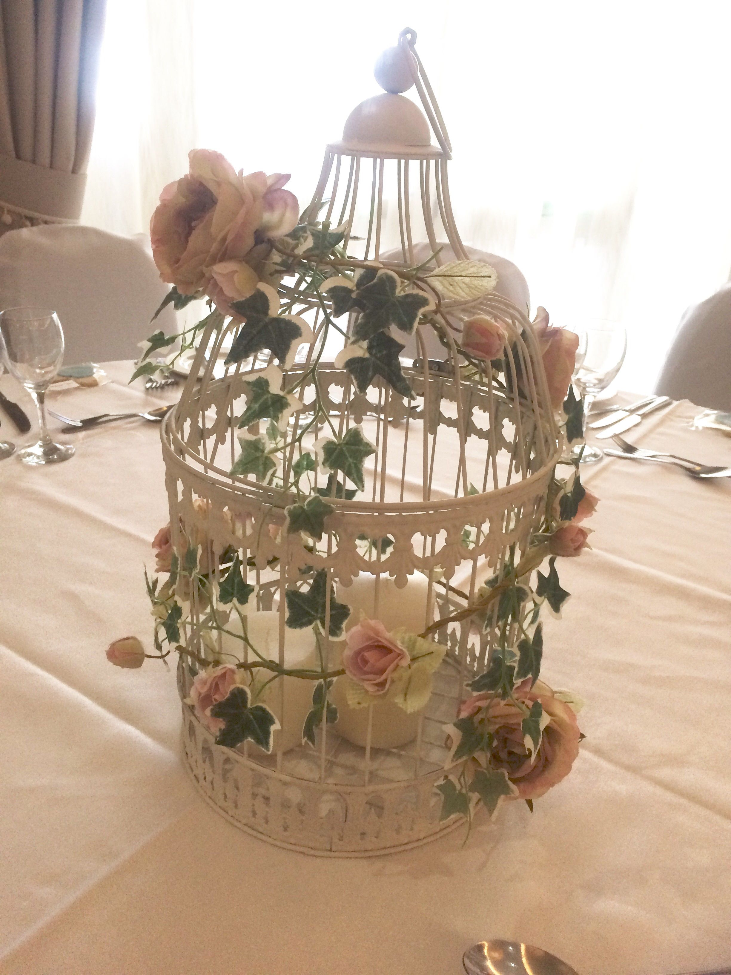 Wedding Birdcage Table Centres Price 163 15 To Hire With
