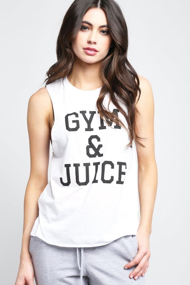 TEEN GYM & JUICE TANK TOP Style #: 153715 $7.99