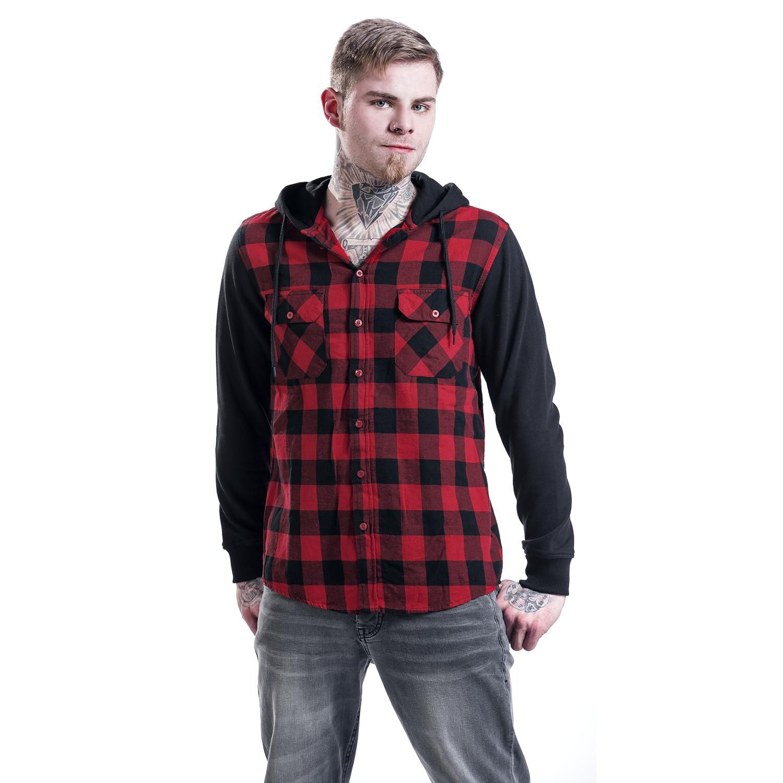 Už vás nebaví nosit typické košile? Máte rádi spíše neformální vzhled? Máme pro vás to pravé, kombinovanou košili s dlouhým rukávem a kapucí. Střed ze 100% bavlny, rukávy a kapuce ze 63% bavlny a 37% polyesteru.