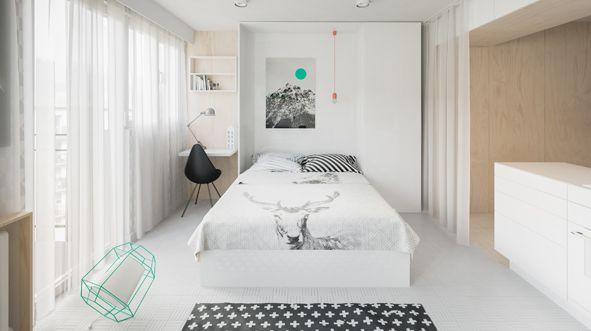 Con solo 20 y 40 metros cuadrados estas casas tienen un for Casa minimalista de 40 metros cuadrados