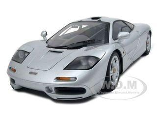 Mclaren F1 Gtr Short Tail Road Car Magnesium Silver Diecast Car Model 1/18 Die Cast Car By Autoart