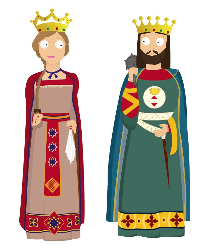 Gegants Rei I Reina Castillos Castle Classroom Medieval Princess
