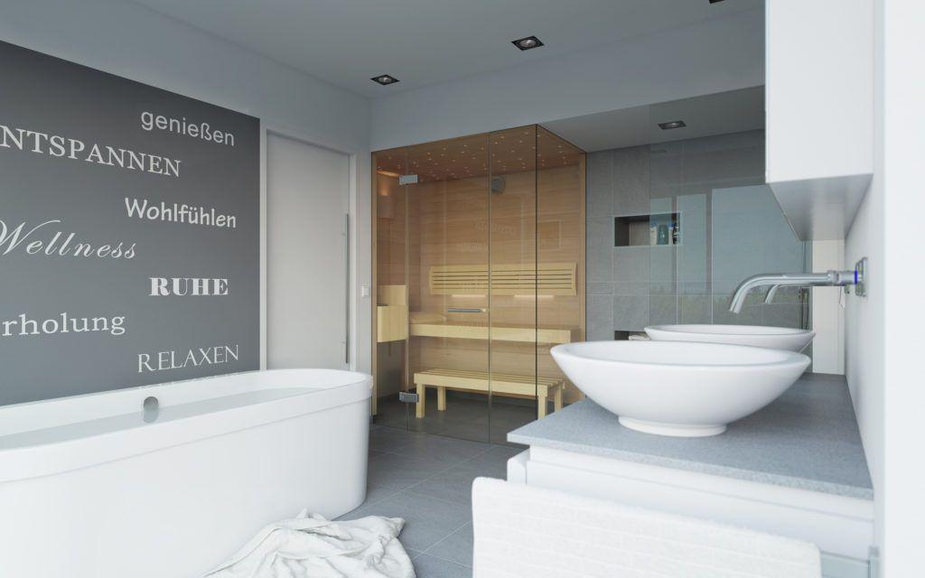 Badezimmer Erstaunlich Sauna Im Badezimmer Ideen Klafs