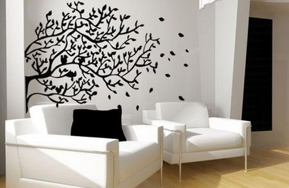 Uppercase Living Ideas Walls | Spruce Up Your Walls With Vinyl Wall Decals  : St.