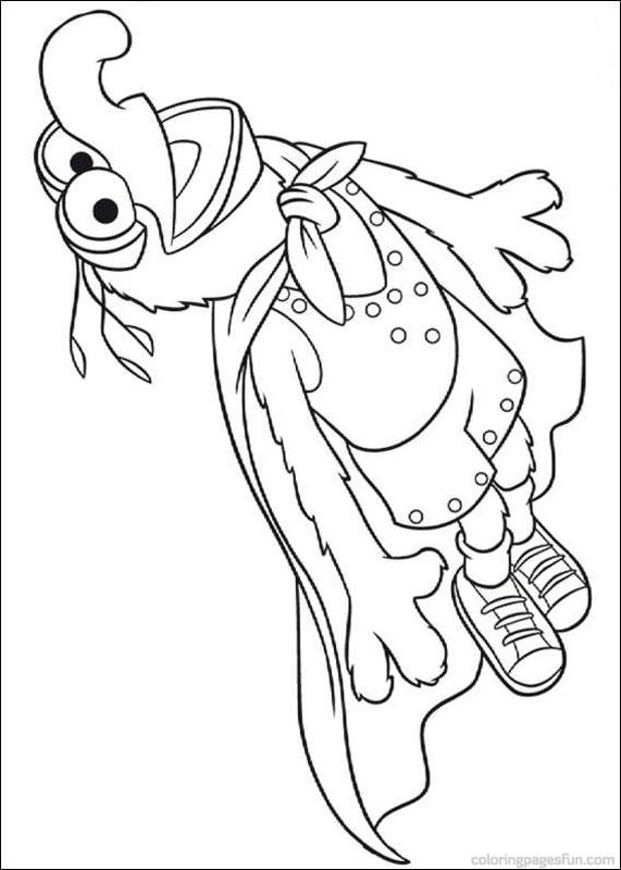 Muppets in space coloring | Muppets Coloring Pages 62 - Free ...
