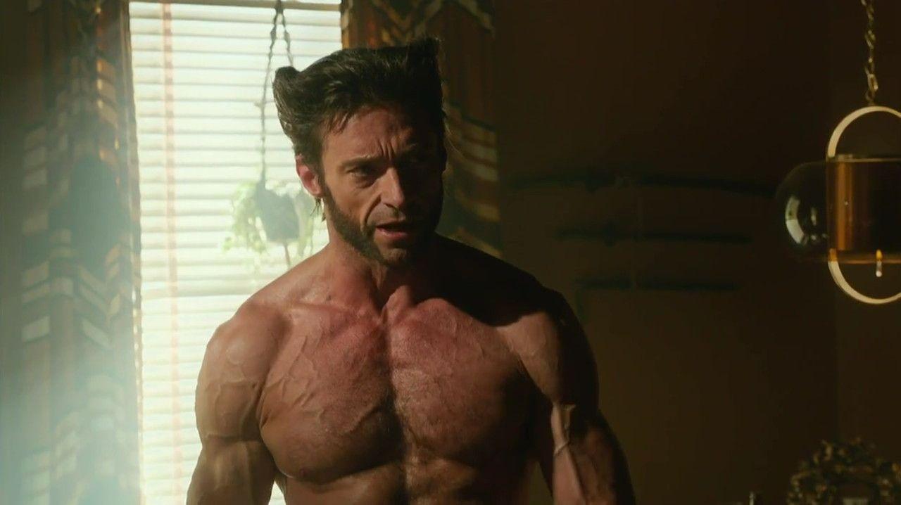 naked jackman Wolverine hugh