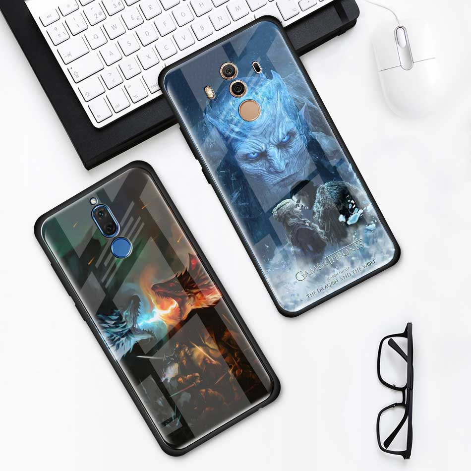 Game Of Throne House Tempered Glass Case For Huawei P30 Pro P10 ...