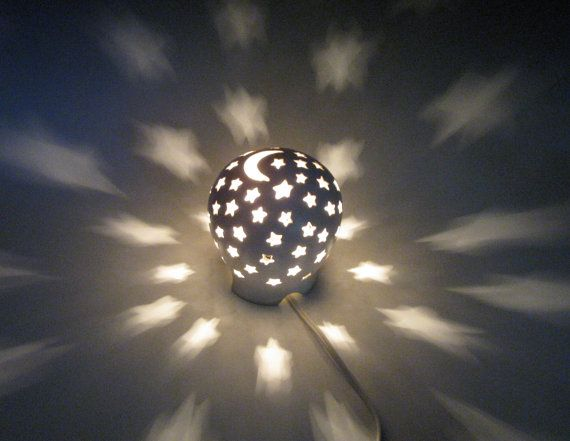 Ceramic Night Light LIghting Electric Lamp Lantern