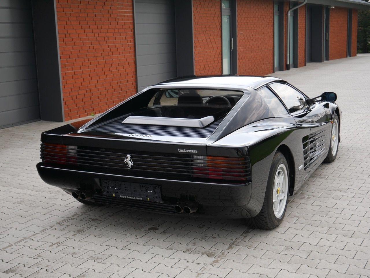 1991 Ferrari Testarossa , black/black , only 300km since