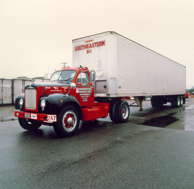 This classic reminds us of just how far we have come for Estes motor freight tracking