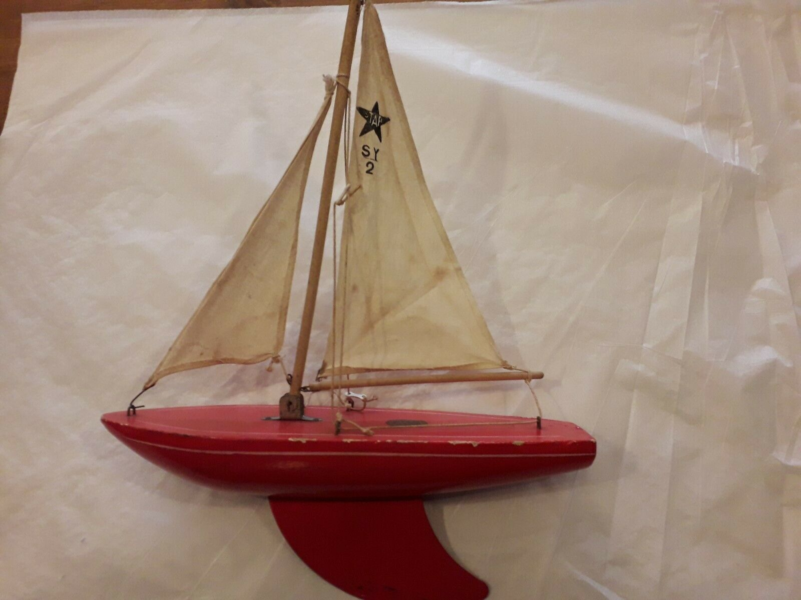 You Are Bidding On A Lovely Vintage Sy2 Star Birkenhead Yacht This Item Is Un A Used Condition With Signs Of Wear The Top Of Yacht Birkenhead Vintage Boats