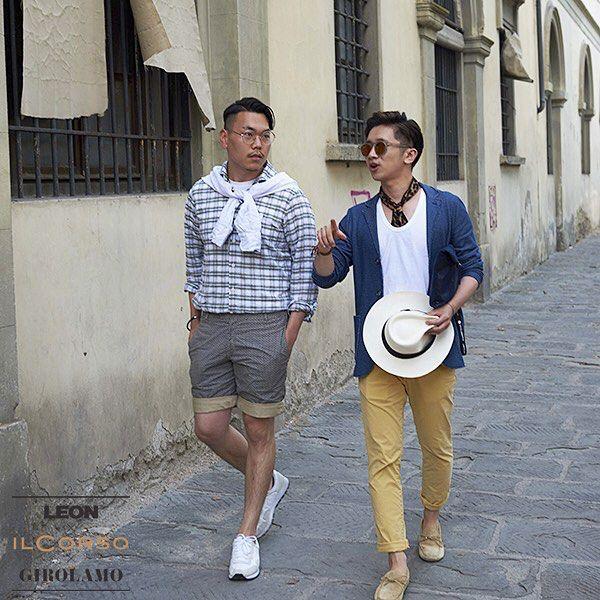 #퇴근길, 당신은 누구와 걷고 있나요  #일꼬르소 #ilcorso #2015 #여행 #travel #lifestyle #이탈리아 #menswear #italy #fashion #clothing #ootd #pitti88 #pittiimmagine #pittiuomo #firenze #mensfashion #pitti #pittiuomo88 @leon_korea#leon #leonkorea #레옹 #레옹코리아 #지롤라모 #지롤라모판체타 #Girolamo #GIRO #링켄리브