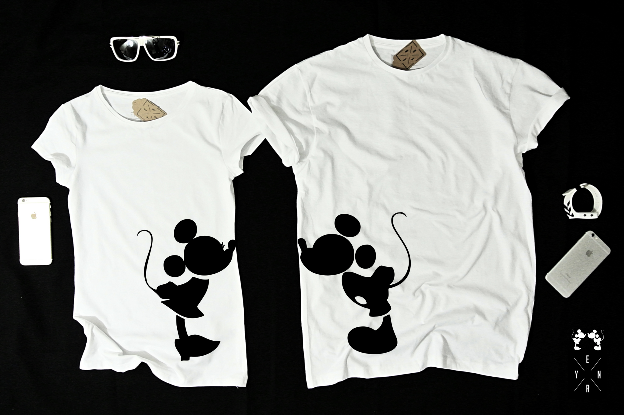 MickeyCricut For T In Couple 2019 Shirts P8n0wkO