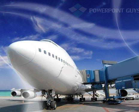air cargo powerpoint template | transportation powerpoint, Modern powerpoint