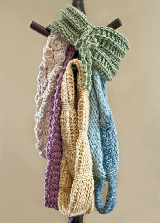 9 Round Scarf Crochet Patterns For Spring Crocheting Pinterest