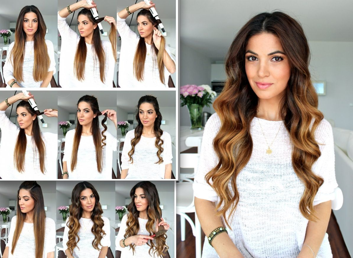 Curly hairstyles tutorials - Ombre Hair Quick Curly Hairstyleswavy Hairstyles Tutorialhairstyle