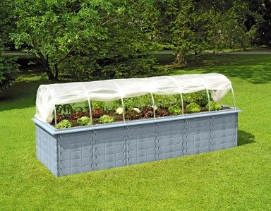Hochbeet Cube 4 Von Dehner Bild 4 Hochbeet Garten Gewachshaus Garten
