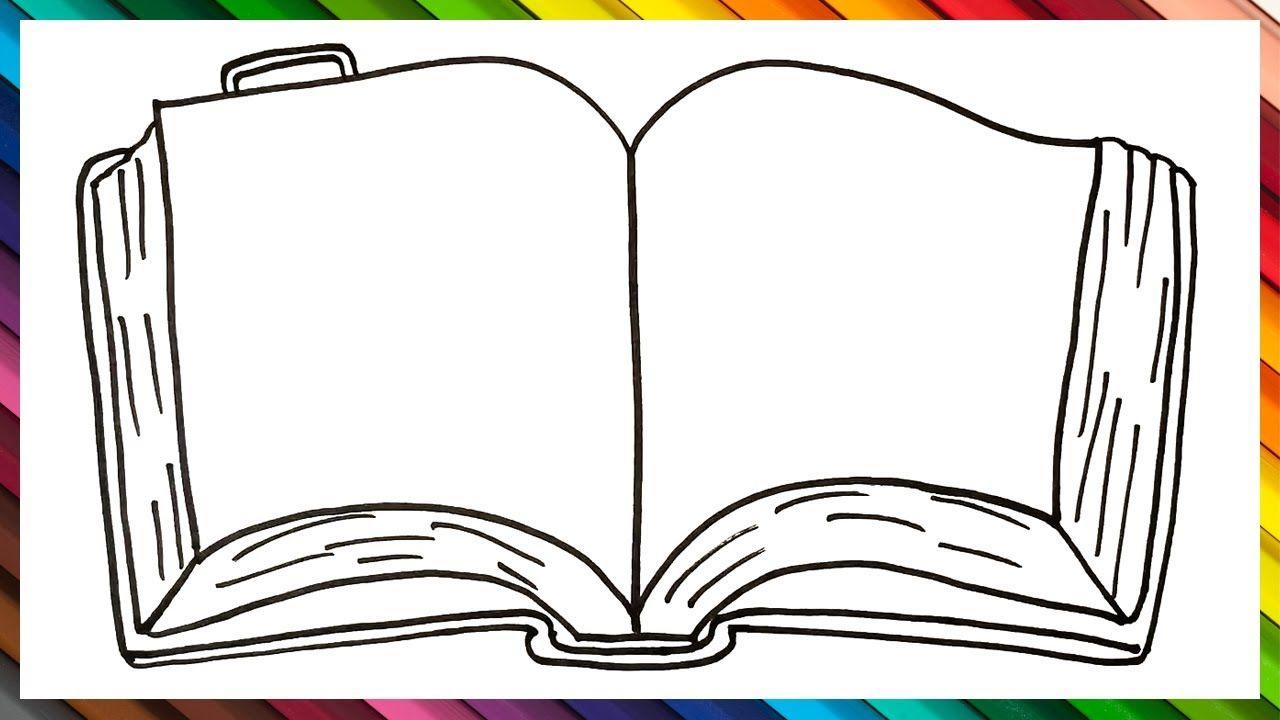 Como Dibujar Un Libro Abierto Paso A Paso Dibujo De Libro Abierto Como Dibujar Un Libro Dibujo Libro Abierto Libro Dibujo