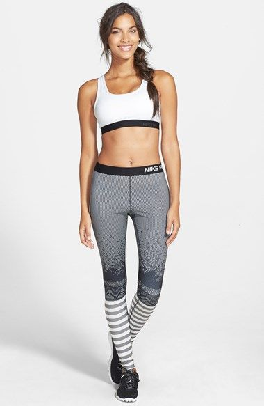b0730bf715192 Nike 'Pro Hyperwarm' Engineered Print Compression Tights | Nordstrom Must  have these!!