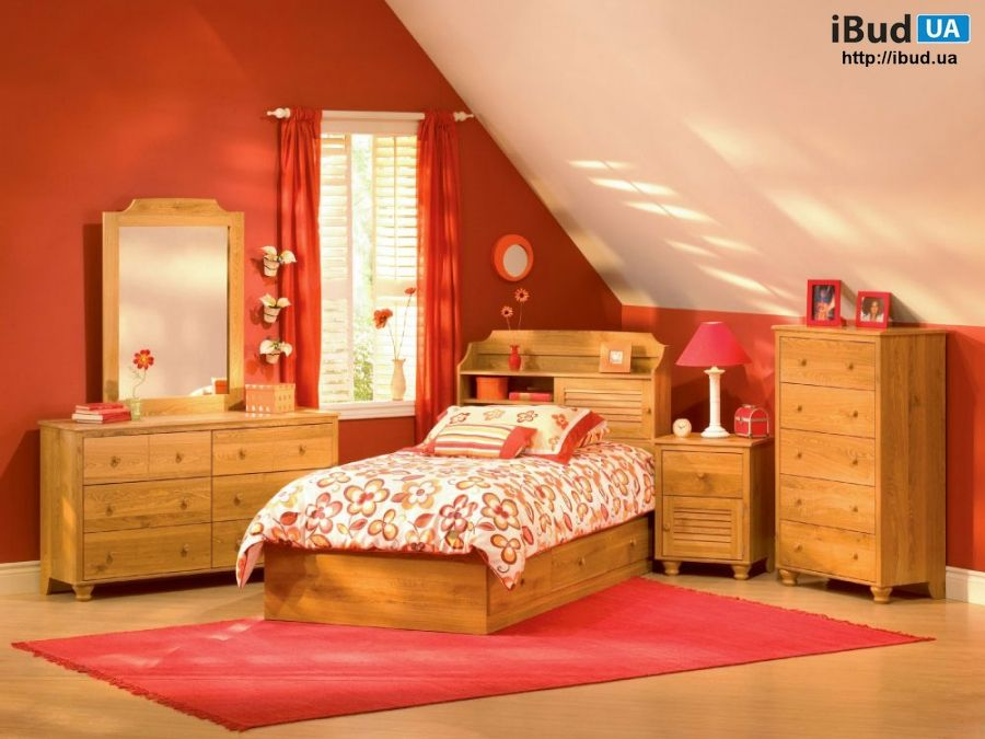 Детская спальня на мансарде фото, Спальни | iBud.ua