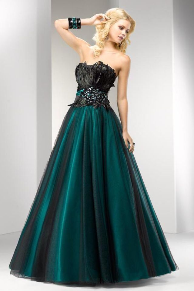 5efffc837fe7e Masquerade gown. Love the edgy feel! Maybe with some combat boots ...