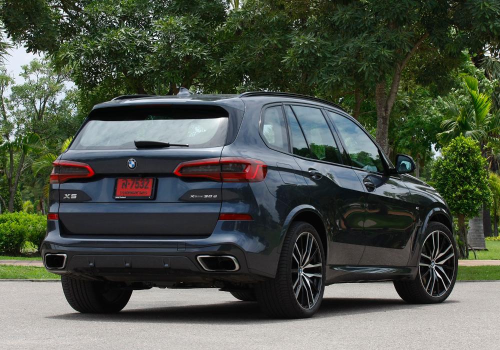 BMW X5 xDrive 30d M Sport (2019) review (มีรูปภาพ)
