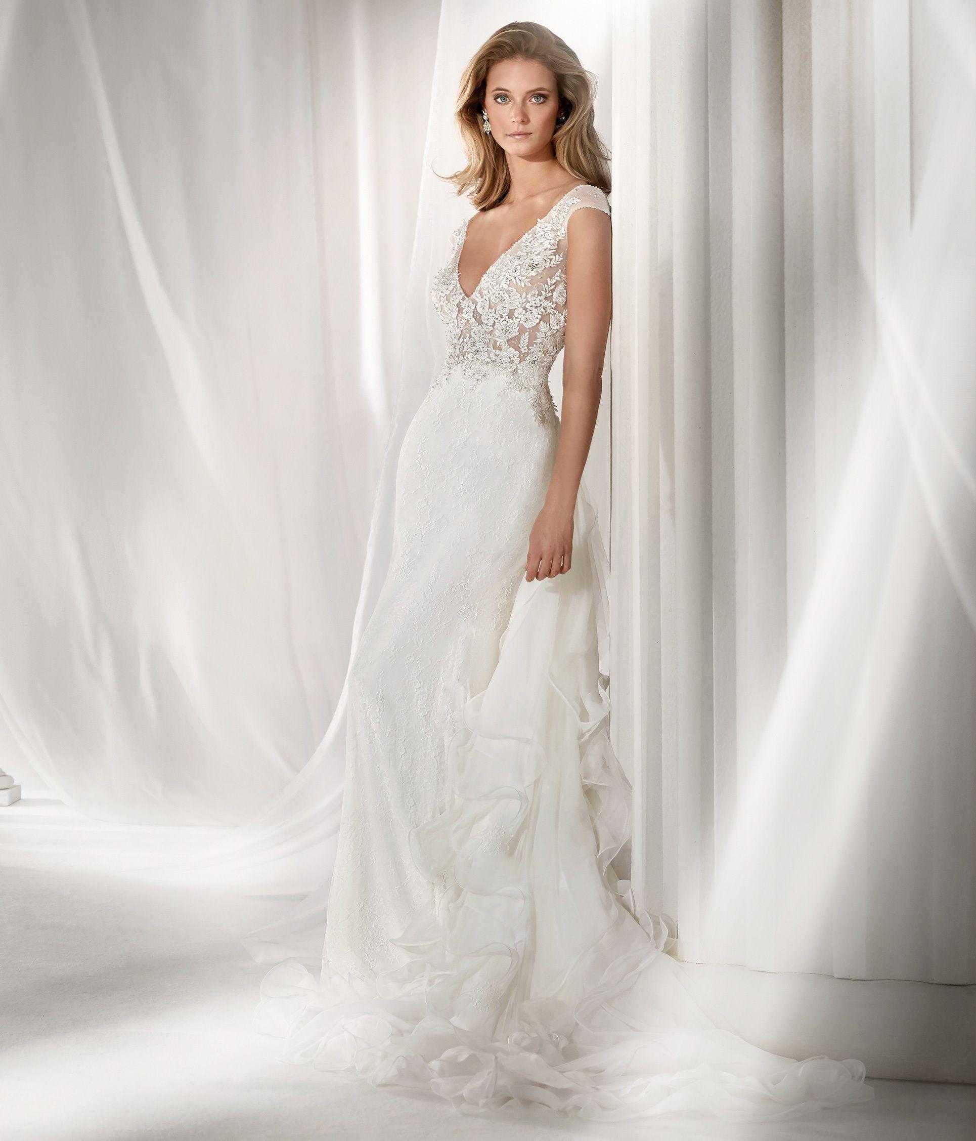 c35655a4c1b0 Moda sposa 2019 - Collezione NICOLE. NIAB19017. Abito da sposa Nicole.
