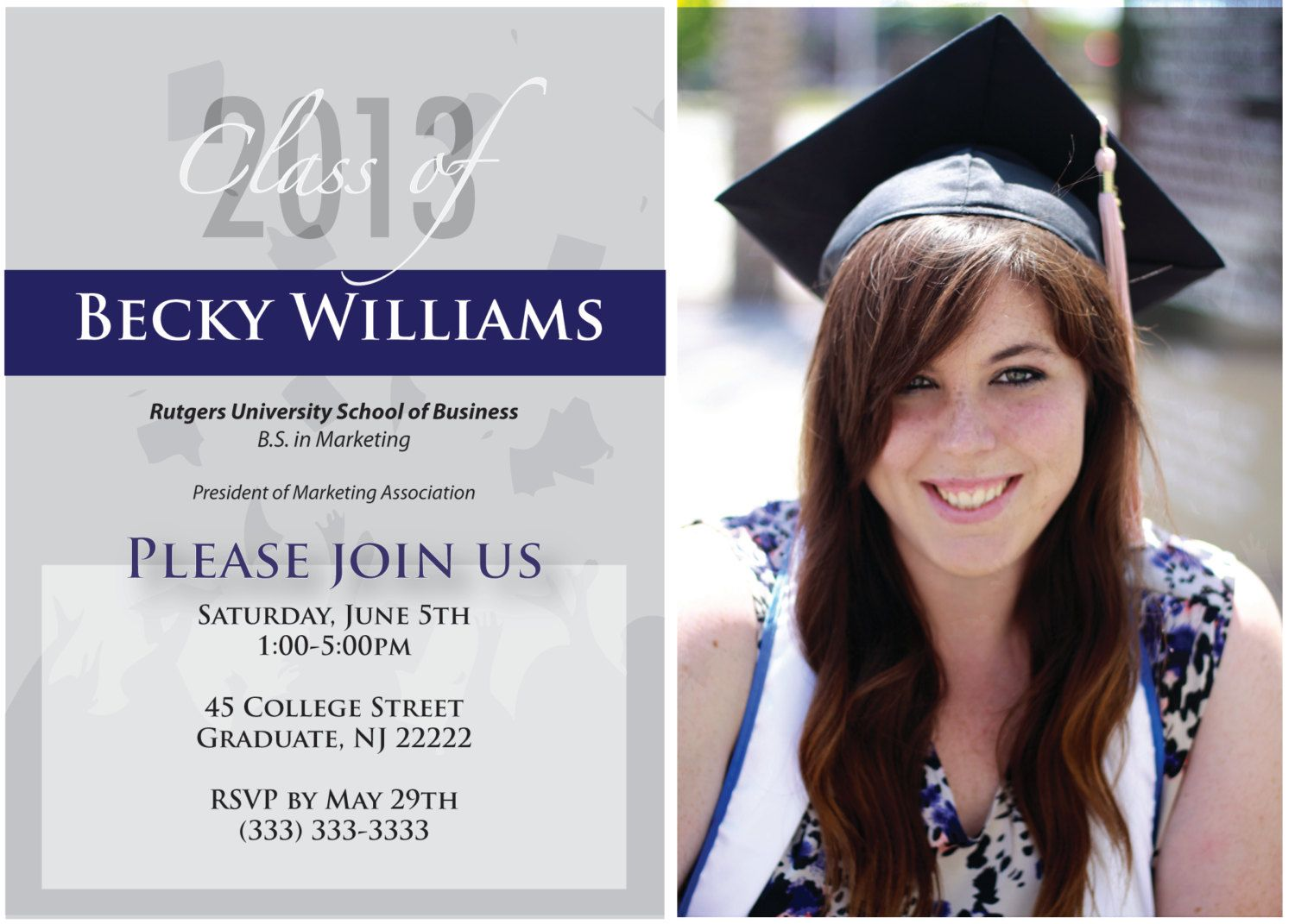 Graduation invitations with quotes google search graduation pinterest for Graduation announcements pinterest